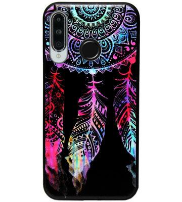 ADEL Siliconen Back Cover Softcase Hoesje voor Huawei P30 Lite - Dromenvanger Kleur