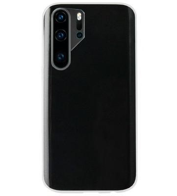 ADEL Siliconen Back Cover Softcase Hoesje voor Huawei P30 Pro - Doorzichtig Transparant