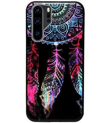 ADEL Siliconen Back Cover Softcase Hoesje voor Huawei P30 Pro - Dromenvanger Kleur