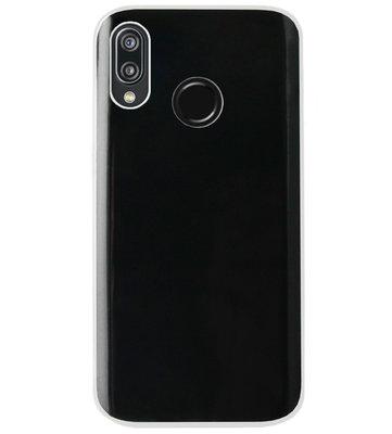 ADEL Siliconen Back Cover Softcase Hoesje voor Huawei P20 Lite (2018) - Doorzichtig Transparant