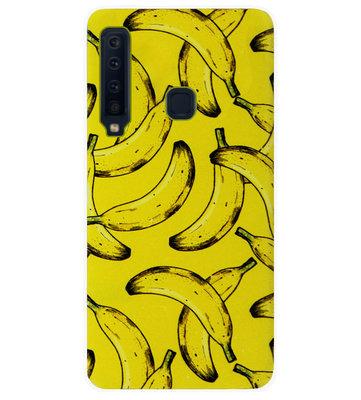 ADEL Siliconen Back Cover Softcase Hoesje voor Samsung Galaxy A9 (2018) - Bananen