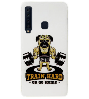 ADEL Siliconen Back Cover Softcase Hoesje voor Samsung Galaxy A9 (2018) - Fitness Sportschool