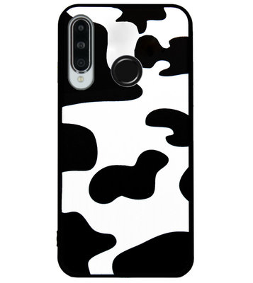 ADEL Siliconen Back Cover Softcase Hoesje voor Huawei P30 Lite - Koe