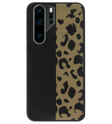 ADEL Siliconen Back Cover Softcase Hoesje voor Huawei P30 Pro - Luipaard