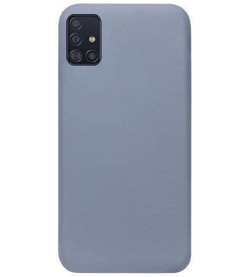 ADEL Premium Siliconen Back Cover Softcase Hoesje voor Samsung Galaxy A71 - Lavendel