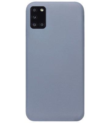 ADEL Premium Siliconen Back Cover Softcase Hoesje voor Samsung Galaxy A31 - Lavendel