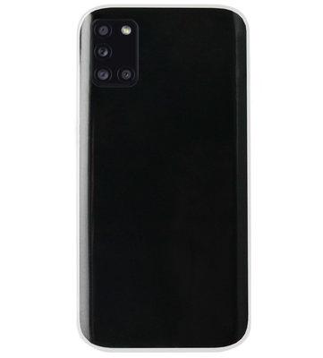 ADEL Siliconen Back Cover Softcase Hoesje voor Samsung Galaxy A31 - Doorzichtig Transparant