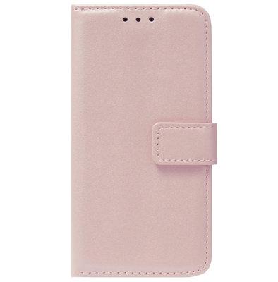 ADEL Kunstleren Book Case Pasjes Portemonnee Hoesje voor Samsung Galaxy S20 Plus - Goud Rose