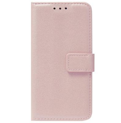 ADEL Kunstleren Book Case Pasjes Portemonnee Hoesje voor Samsung Galaxy S20 Ultra - Goud Rose