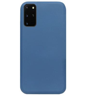 ADEL Premium Siliconen Back Cover Softcase Hoesje voor Samsung Galaxy S20 - Blauw