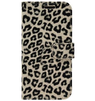 ADEL Kunstleren Book Case Pasjes Portemonnee Hoesje voor Samsung Galaxy S20 - Luipaard