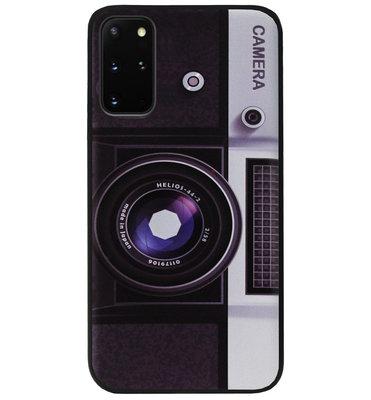 ADEL Siliconen Back Cover Softcase Hoesje voor Samsung Galaxy S20 Plus - Fotocamera
