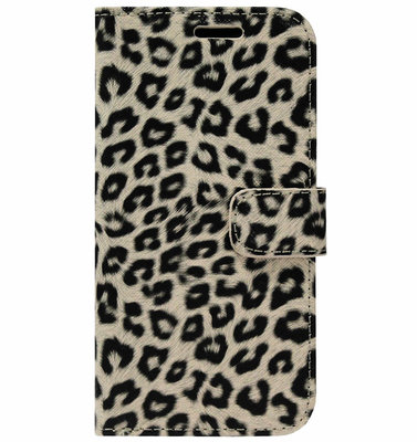 ADEL Kunstleren Book Case Pasjes Portemonnee Hoesje voor Samsung Galaxy S20 Ultra - Luipaard