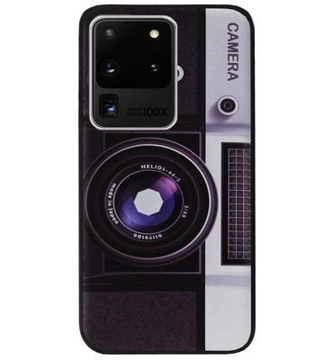 ADEL Siliconen Back Cover Softcase Hoesje voor Samsung Galaxy S20 Ultra - Fotocamera