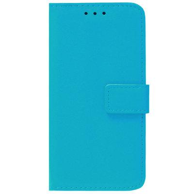 ADEL Kunstleren Book Case Pasjes Portemonnee Hoesje voor Samsung Galaxy J3 (2015)/ J3 (2016) - Blauw
