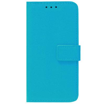 ADEL Kunstleren Book Case Pasjes Portemonnee Hoesje voor Samsung Galaxy J7 (2017) - Blauw