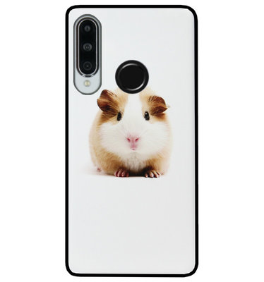 ADEL Siliconen Back Cover Softcase Hoesje voor Huawei P30 Lite - Cavia