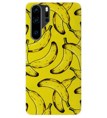 ADEL Siliconen Back Cover Softcase Hoesje voor Huawei P30 Pro - Bananen