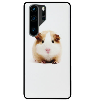 ADEL Siliconen Back Cover Softcase Hoesje voor Huawei P30 Pro - Cavia