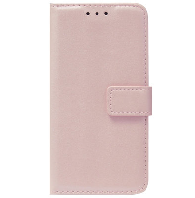 ADEL Kunstleren Book Case Pasjes Portemonnee Hoesje voor Samsung Galaxy A41 - Goud Rose