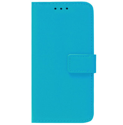 ADEL Kunstleren Book Case Pasjes Portemonnee Hoesje voor Samsung Galaxy A41 - Blauw