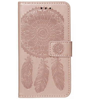 ADEL Kunstleren Book Case Pasjes Portemonnee Hoesje voor Samsung Galaxy A71 - Dromenvanger