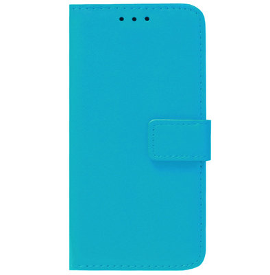 ADEL Kunstleren Book Case Pasjes Portemonnee Hoesje voor Samsung Galaxy A31 - Blauw