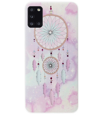 ADEL Siliconen Back Cover Softcase Hoesje voor Samsung Galaxy A31 - Dromenvanger
