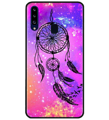 ADEL Siliconen Back Cover Softcase Hoesje voor Samsung Galaxy A20s - Dromenvanger