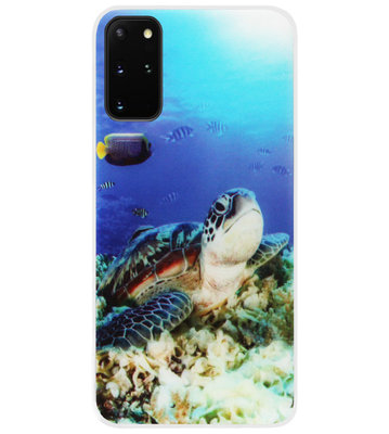 ADEL Siliconen Back Cover Softcase Hoesje voor Samsung Galaxy S20 FE - Schildpad