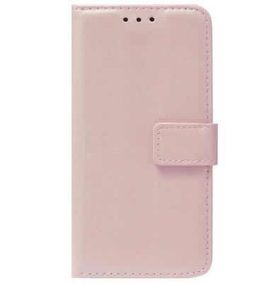 ADEL Kunstleren Book Case Pasjes Portemonnee Hoesje voor Samsung Galaxy S20 FE - Goud Rose