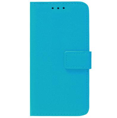 ADEL Kunstleren Book Case Pasjes Portemonnee Hoesje voor Samsung Galaxy S20 FE - Blauw