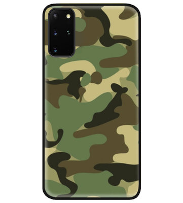 ADEL Siliconen Back Cover Softcase Hoesje voor Samsung Galaxy S20 FE - Camouflage