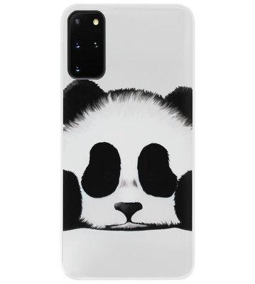 ADEL Siliconen Back Cover Softcase Hoesje voor Samsung Galaxy S20 FE - Panda