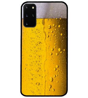 ADEL Siliconen Back Cover Softcase Hoesje voor Samsung Galaxy S20 FE - Pils Bier