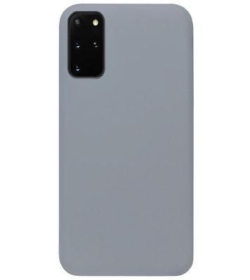 ADEL Siliconen Back Cover Softcase Hoesje voor Samsung Galaxy S20 FE - Grijs