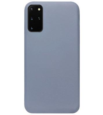 ADEL Premium Siliconen Back Cover Softcase Hoesje voor Samsung Galaxy S20 FE - Lavendel