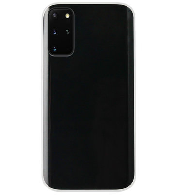 ADEL Siliconen Back Cover Softcase Hoesje voor Samsung Galaxy S20 FE - Doorzichtig Transparant
