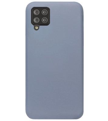 ADEL Premium Siliconen Back Cover Softcase Hoesje voor Samsung Galaxy A42 - Lavendel