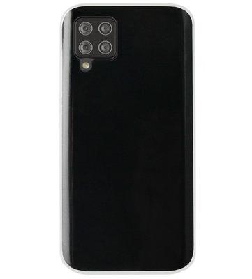 ADEL Siliconen Back Cover Softcase Hoesje voor Samsung Galaxy A42 - Doorzichtig Transparant