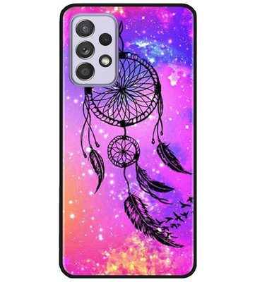 ADEL Siliconen Back Cover Softcase Hoesje voor Samsung Galaxy A72 - Dromenvanger