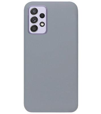 ADEL Siliconen Back Cover Softcase Hoesje voor Samsung Galaxy A72 - Grijs