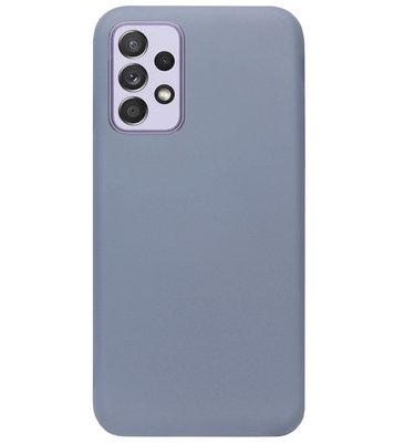 ADEL Premium Siliconen Back Cover Softcase Hoesje voor Samsung Galaxy A72 - Lavendel