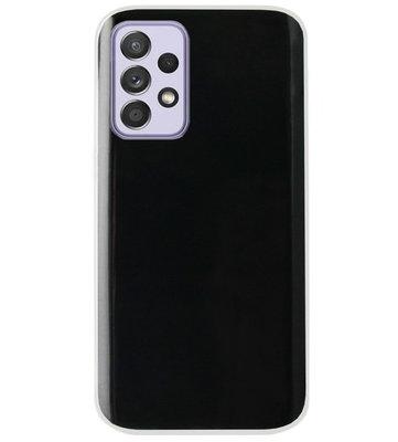 ADEL Siliconen Back Cover Softcase Hoesje voor Samsung Galaxy A72 - Doorzichtig Transparant