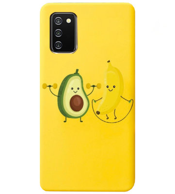 ADEL Siliconen Back Cover Softcase Hoesje voor Samsung Galaxy A02s - Fruit