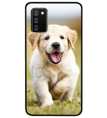 ADEL Siliconen Back Cover Softcase Hoesje voor Samsung Galaxy A02s - Labrador Retriever Hond