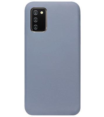 ADEL Premium Siliconen Back Cover Softcase Hoesje voor Samsung Galaxy A02s - Lavendel