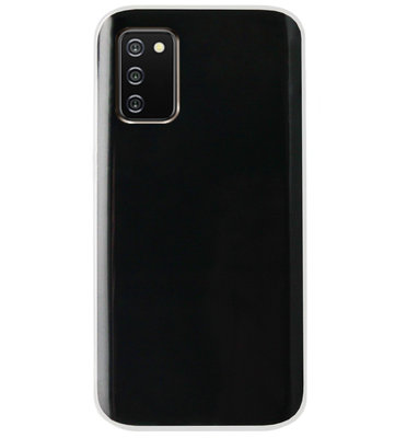ADEL Siliconen Back Cover Softcase Hoesje voor Samsung Galaxy A02s - Doorzichtig Transparant