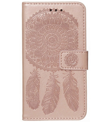 ADEL Kunstleren Book Case Pasjes Portemonnee Hoesje voor Samsung Galaxy A12/ M12 - Dromenvanger