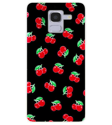 ADEL Siliconen Back Cover Softcase Hoesje voor Samsung Galaxy J6 Plus (2018) - Fruit